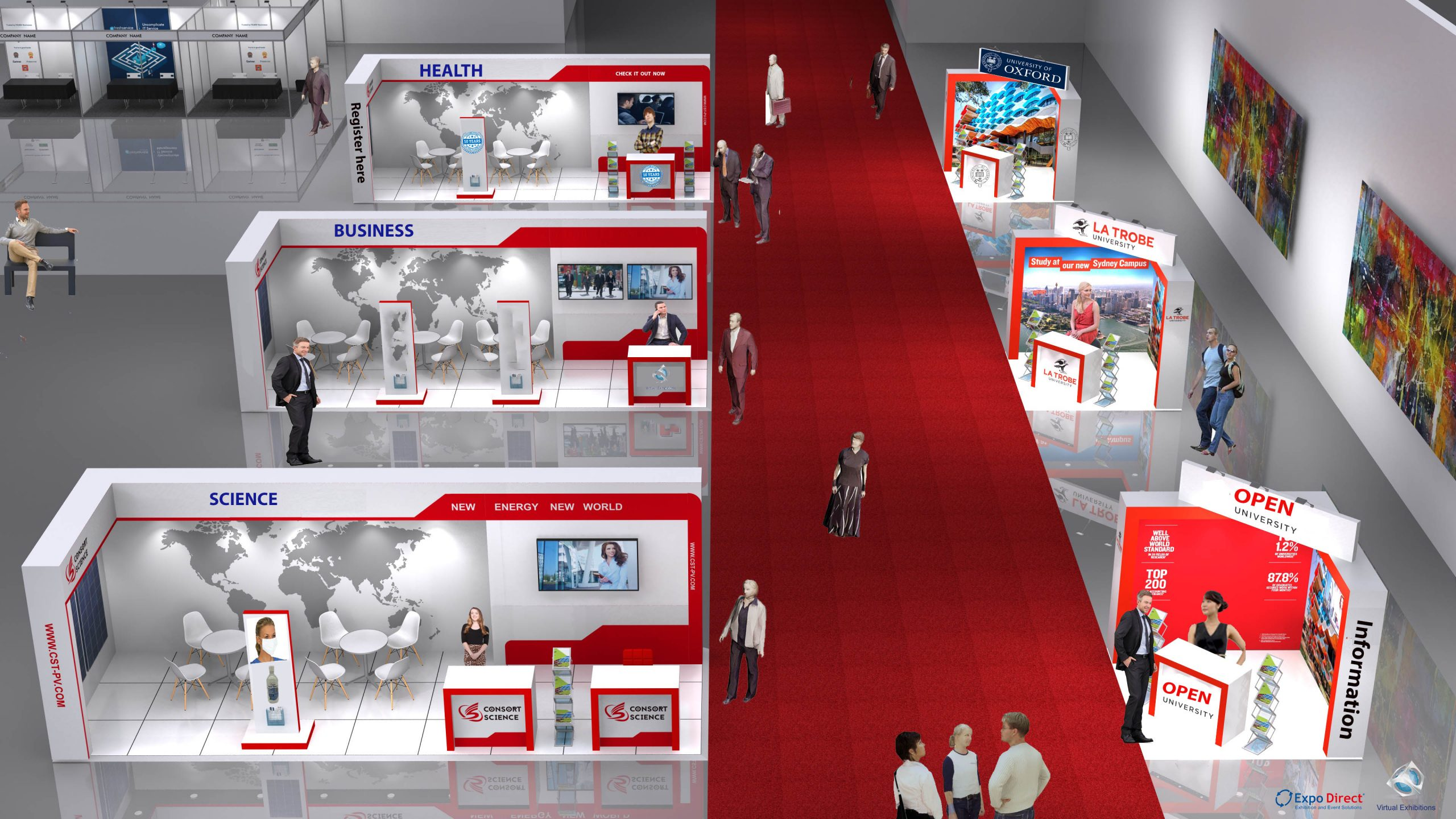 Our 3D Virtual Exhibition Hall